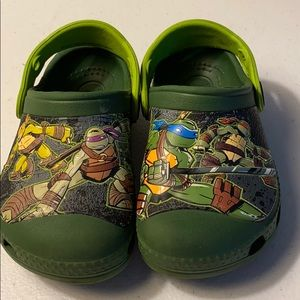 Other - TMNT Crocs mules